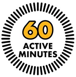 60 active minutes